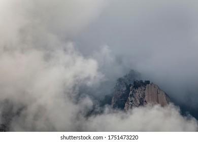 A beautifull view of Bavella Canyon of Corsica mountains, France. I  Forchi di Bavedda.