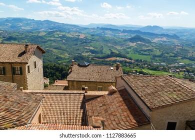Beautifull view of San Marino.