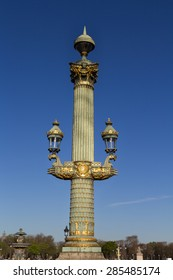 A beautifully adorned in Place De La Concorde Paris