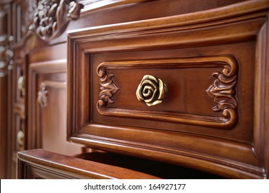 Beautifully crafted wood furniture