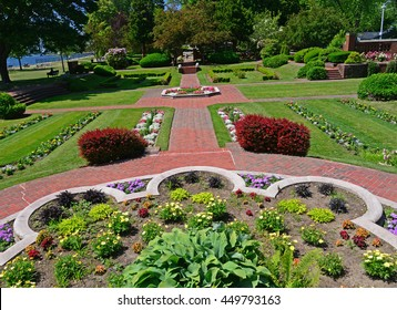 A beautifully kept garden is an outstanding feature of Lynch Park in Beverly. The Garden includes  a rose garden and is often a venue for weddings.
