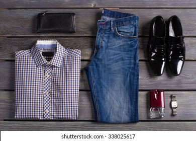Beautifully laid out an exclusive men's clothing.