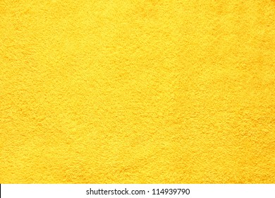 Beautifully Lit Yellow Fabric Texture