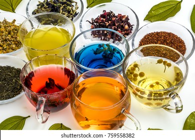 Beautifully made herbal tea
