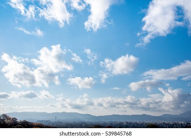 A Beautifully Sunny Day with Blue Sky Background