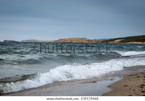 Beauty Baykal lake in Russia during Summer