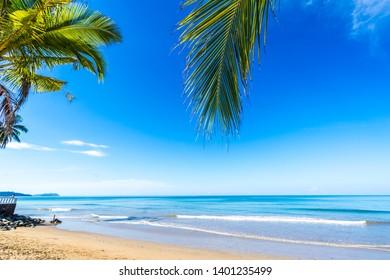beauty beach in Phuket of Thailand