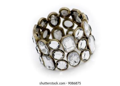 Beauty bracelet isolated on white