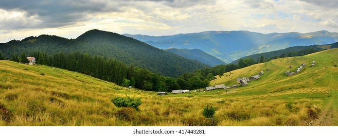 Beauty in the Carpathian Mountains in Ukraine.