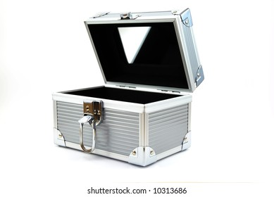 Beauty chest on white background