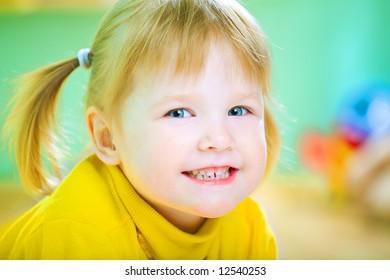 beauty child portrait