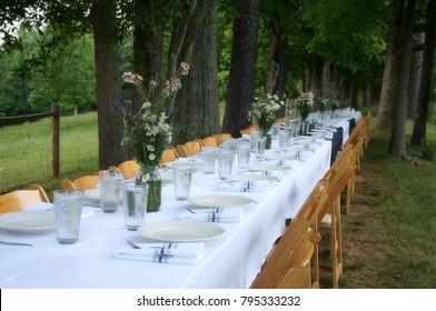 The Beauty of a Community Dinner Table on the Farm