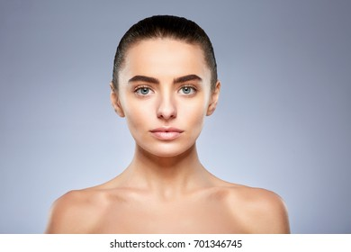 No woman eyebrows with Face Reading