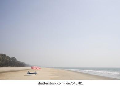 Beauty of Cox's Bazar sea beach.