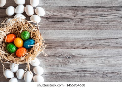 Beauty Easter Holidays Greeting Cards