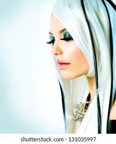 Beautiful Hair Highlights Stock Photos Images Photography