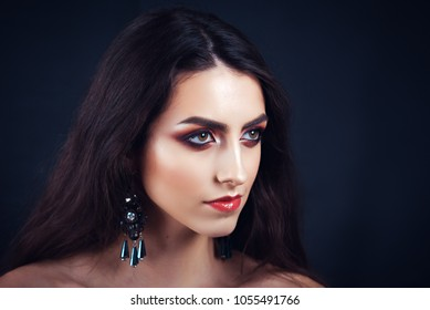 Beauty make up woman