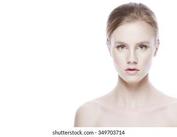 Beauty model sensual