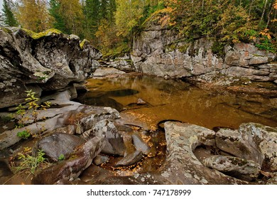The beauty of the mountain rivers of Siberia