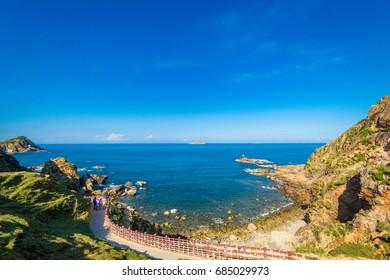 Beauty nature of Eo Gio beach in Qui Nhon Vietnam