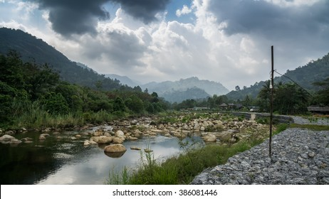 The beauty of the nature in Khiriwong village , Nakhon Si Thammarat , Thailand