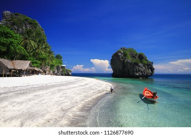 The beauty of nature Koh Langka Jew Island in Chumphon Province, Thailand