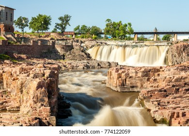 Beauty of nature in Sioux Falls, South Dakota, USA