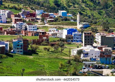 The beauty of New Chefchaouen, Blue City of northwest Morocco