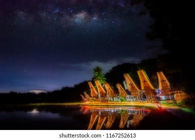 Beauty Of Night In Toraja