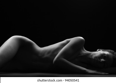 beauty of nudity light and shadow