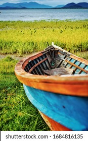 The beauty of the old boat