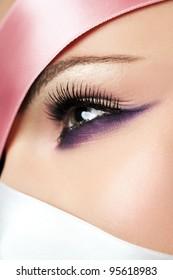 Beauty portrait, close-up