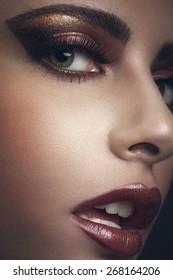 beauty portrait with detail