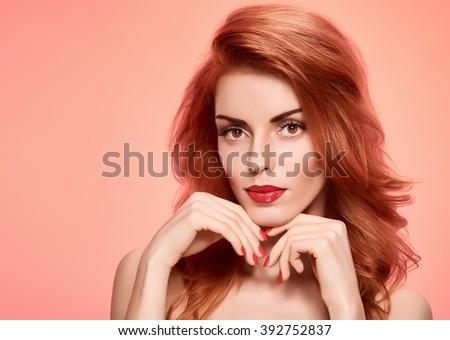 Gorgeous redhead nude afraid, that