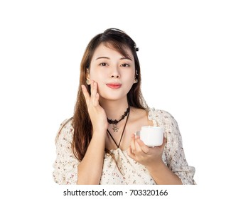 beauty product presentation