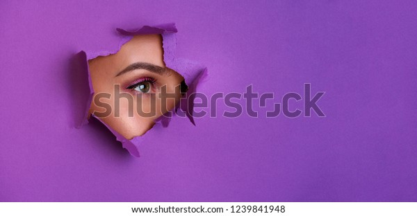 Beauty Salon Advertising Banner Copy Space Beauty Fashion Stock Image 1239841948