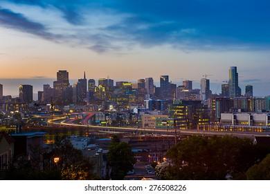 The beauty of San Francisco Skyline
