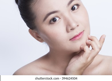 Beauty shot of asian girl
