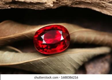 Beauty Shot Gemstone Red RUBY