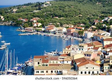 Beauty shot of Paxos, Greece