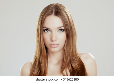 Beauty shot of the young and beautiful woman - Shutterstock ID 343625180