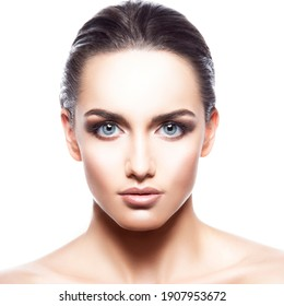 beauty skin care woman healthy skin face close up