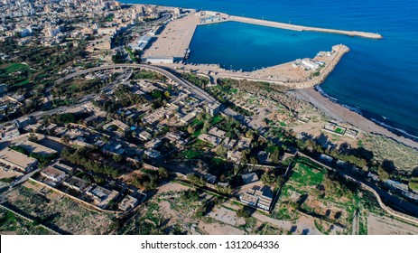 a beauty sky photo for the city of Benghazi