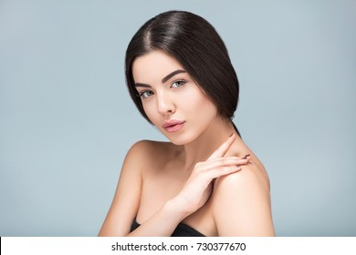 Beauty  Spa  girl portrait, fresh healthy skin, skincare and cosmetology concept, rejuvenation and treatment