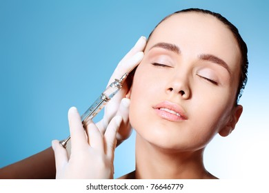 Beauty therapeutical female skin juvenation.