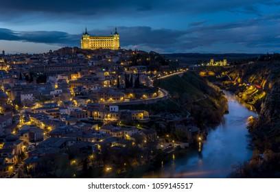 the beauty of Toledo , spain