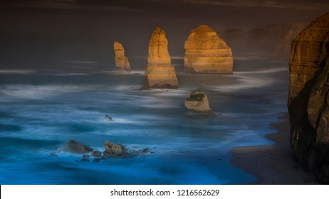 The beauty of The Twelve Apostles at Port Campbell, Victoria-Australia. This destination is a must-visit when you travel to Australia or riding all the way Great Ocean Road.