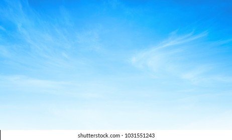 Beauty white cloud and clear blue sky in sunny day texture background