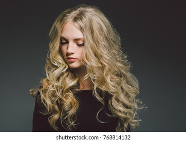 long hair sexy lady