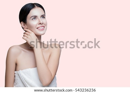 3f6e26bbd Beauty Woman Face Portrait Beauty Portrait Stock Photo (Edit Now ...